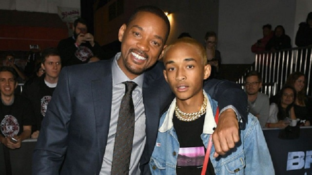 Jaden Smith joined by dad Will Smith at Coachella