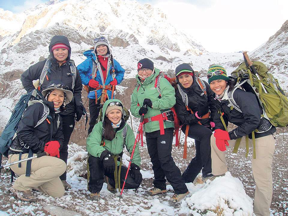 More Women climbing Nepali mountains