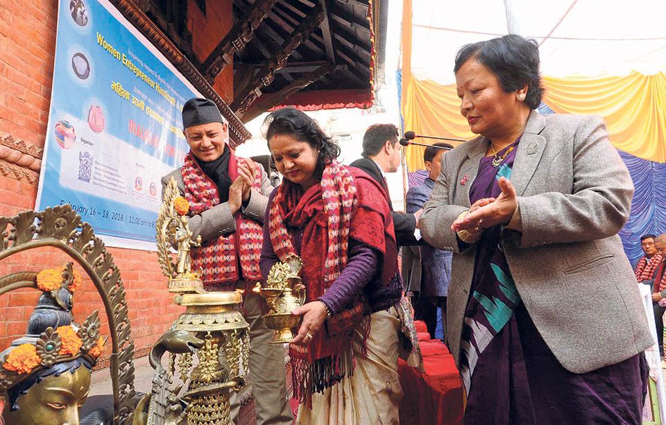 Women entrepreneurs handicraft fair kicks off in Ktm