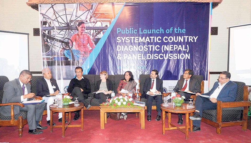 World Bank report calls for change in Nepal's development model