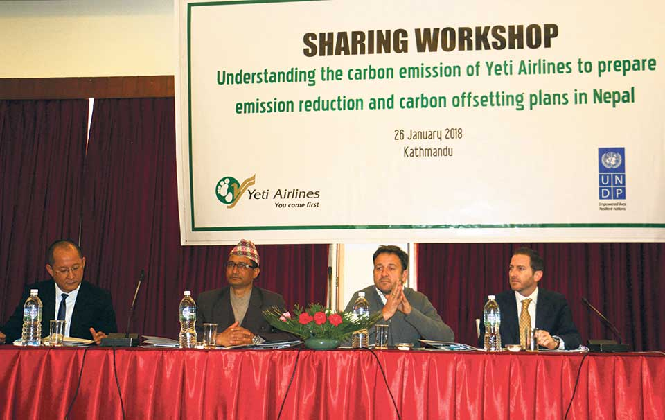 Yeti Airlines initiates process to become 'carbon neutral'