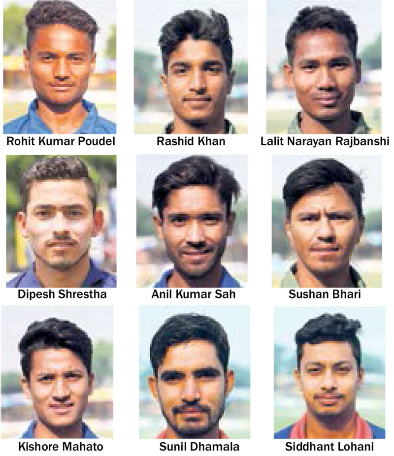 Youngsters galore in preliminary squad for Namibia; Bhandari, Pun dropped