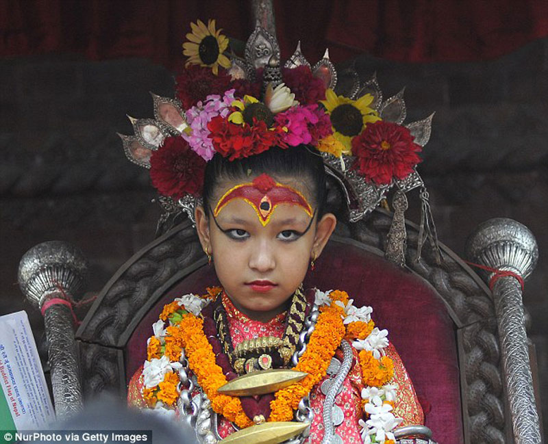 7-year-old girl declared as Royal Kumari of Kathmandu