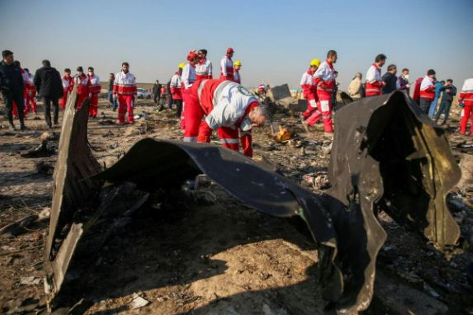 Iran investigation says Ukrainian jet was on fire before crash